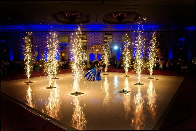 Image result for Decorating Your Reception Tables with Sparklers