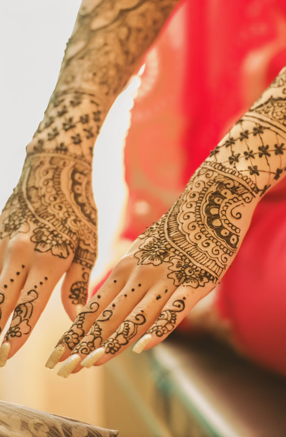 1a indian bridal mehndi