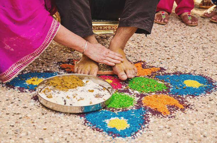 2aa indian rangoli