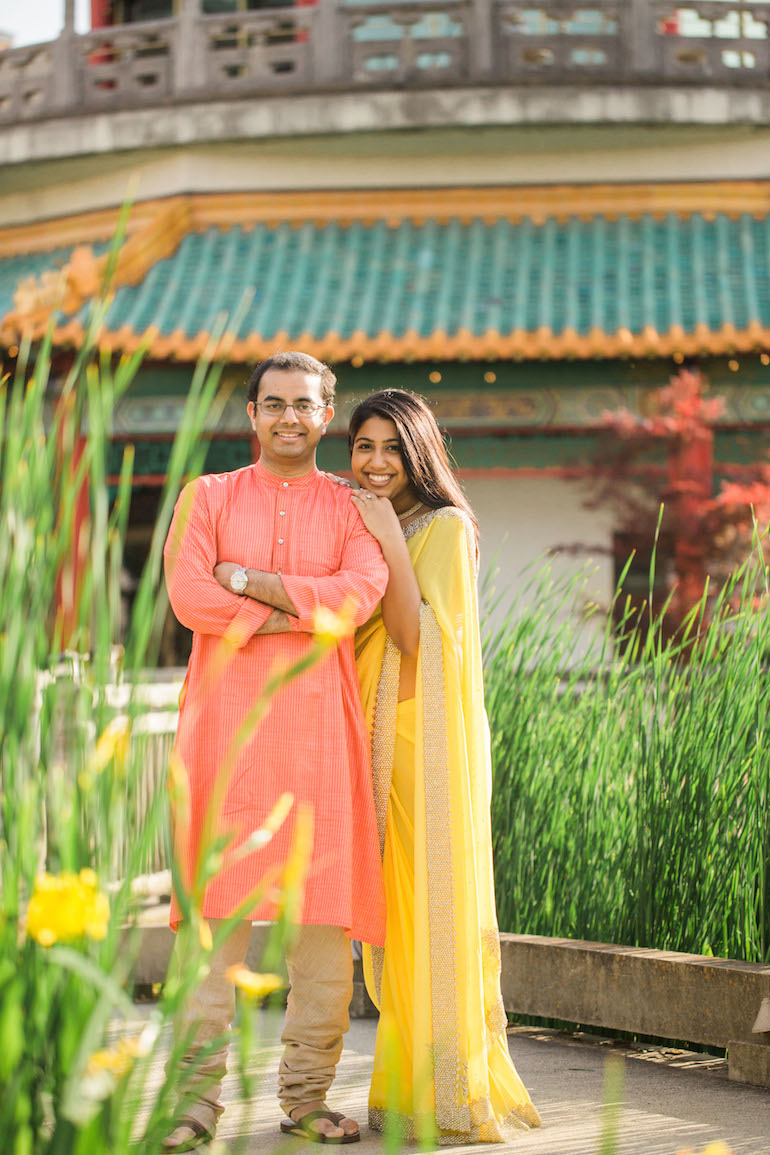 3a indian outdoor engagement session