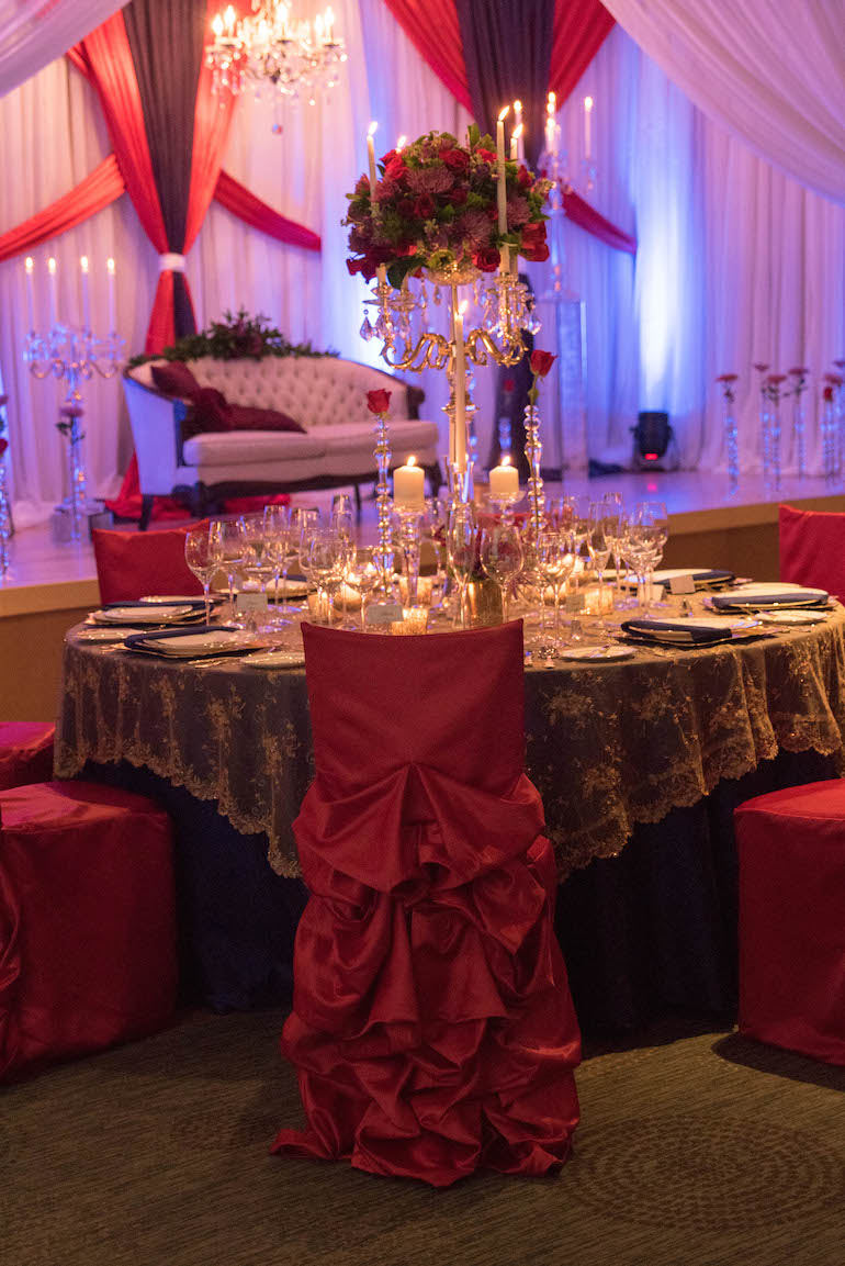 6a indian wedding table decor