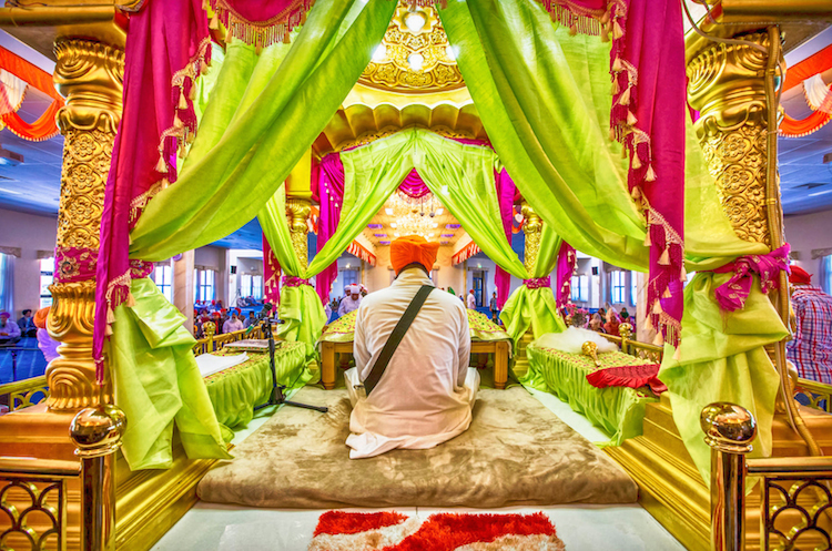 7a indian gurdwara ceremony