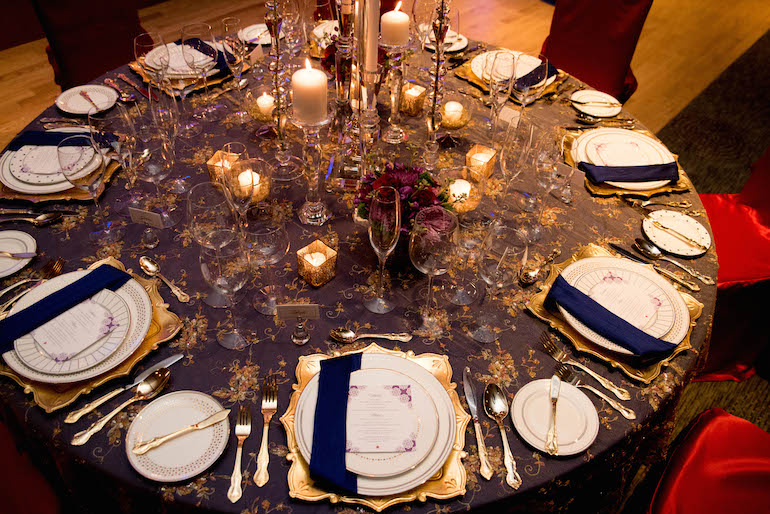 7a indian wedding tablescape
