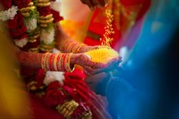 Sweet Washington DC South Indian Wedding By Photographick Studios
