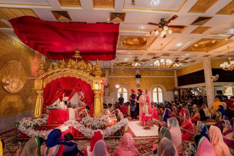anand karaj sikhism wedding ceremony