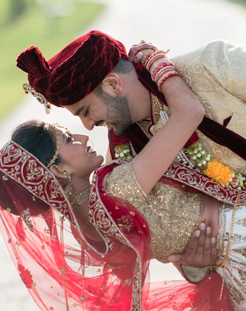 Anish and Bindiya Real Wedding