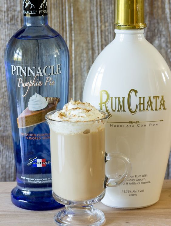 Drunken Pumpkin Pie Latte