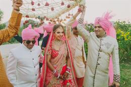 Regal Udaipur Indian Wedding With Whole Lot Of Colors By F5 Weddings