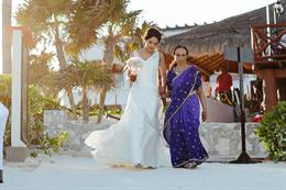 Elegant Mexico Indian Wedding By Ivan Luckie Photography