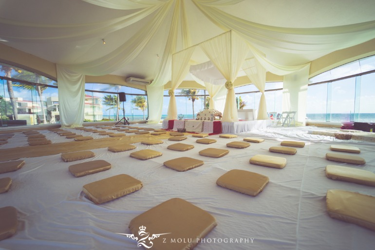 sikh beach wedding