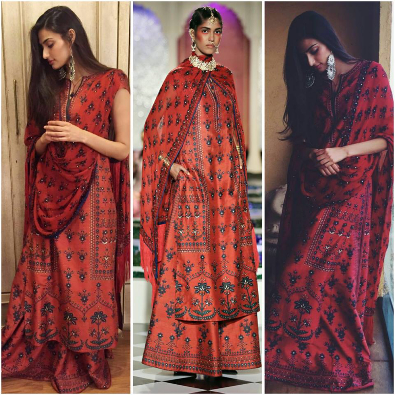 gypsy princess tribal print- anita dongre