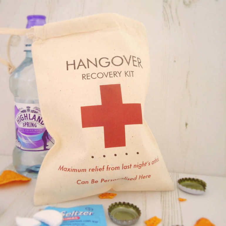 hangover kit - Not On The High Street