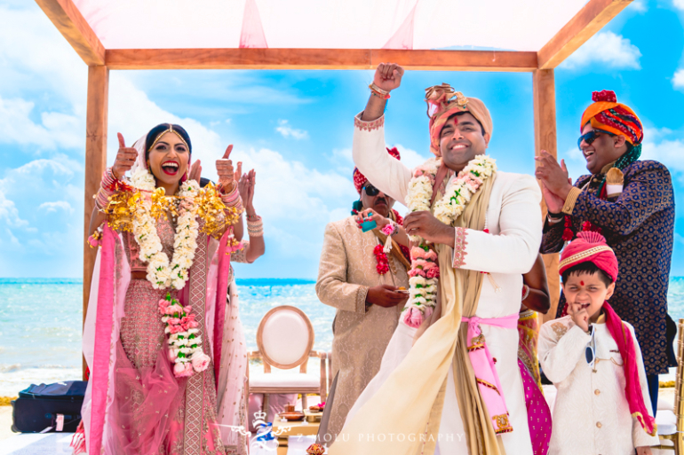 indian wedding couple