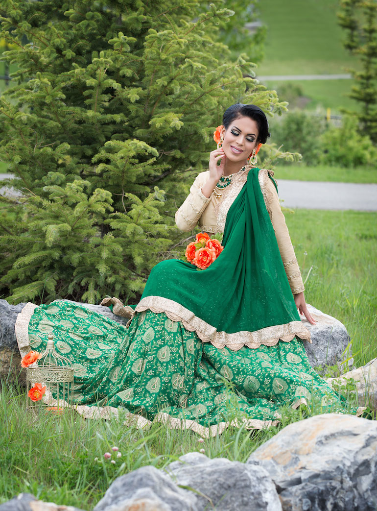 indian wedding outdoor model