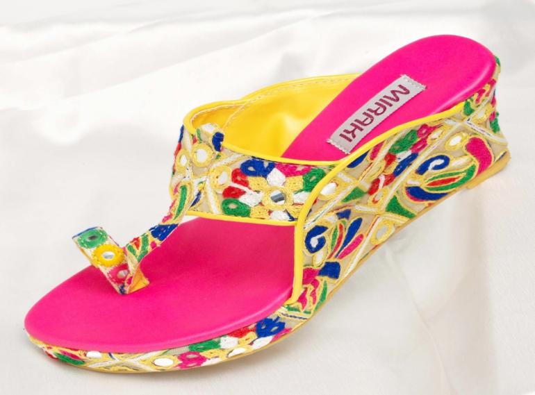 Miraki Kolhapuri Sandals