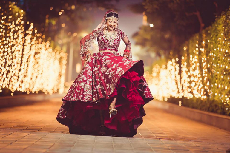 playful bride - hitched and clicked
