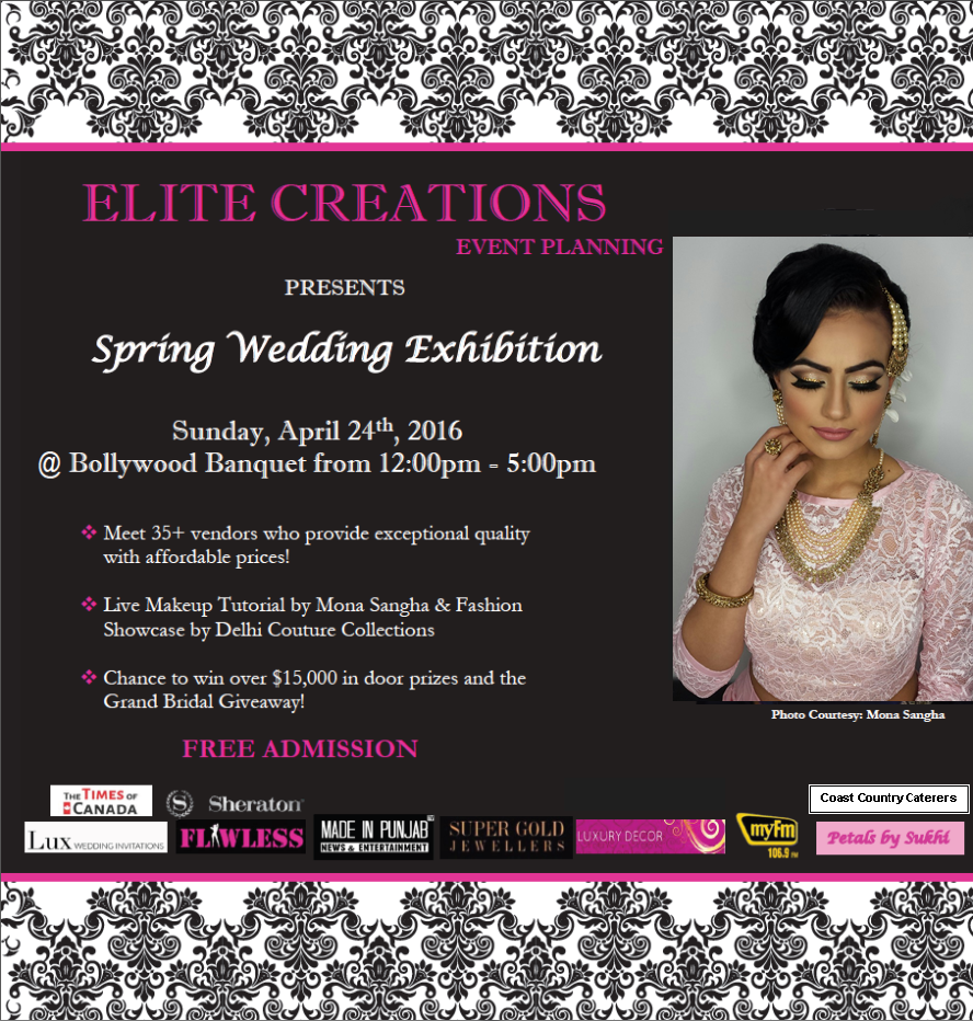 Spring Wedding Exhibition Ad - New-2