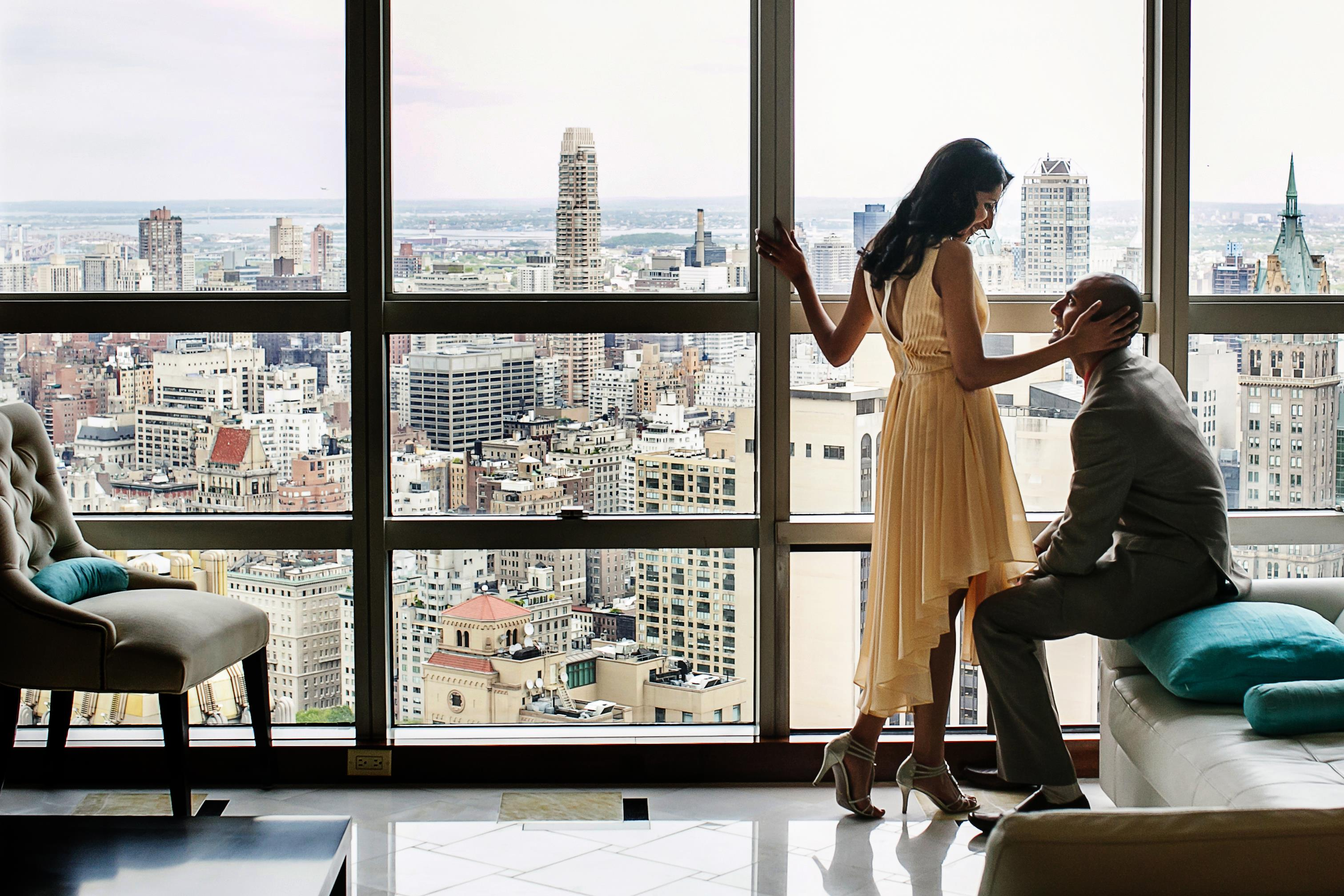 NYC Indian Engagement Session by Nadia D. Photography