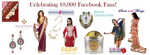 10,000 IndianWeddingSite.com Facebook Fans Giveaway!