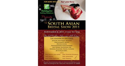 South Asian Bridal Show 2011 - Nov 6th - IL