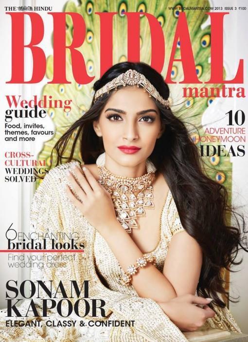 Sonam Kapoor for The Hindu Bridal Mantra 2013