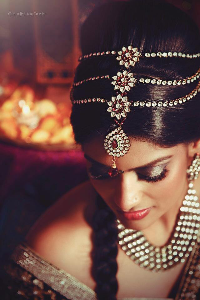 indian bride tikka claudia mcdade
