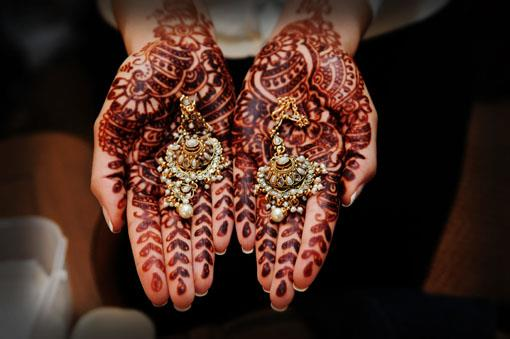 Indian Wedding Tip: Mehndi Application