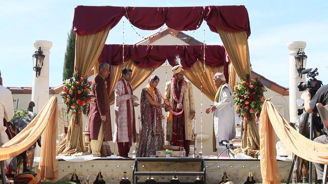 Hindu Wedding Highlights film at Casa Real
