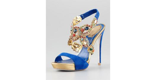 Tuesday Shoesday- Jeweled Indian Bridal Shoes