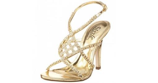 Tuesday Shoesday- Indian Wedding Gold Shoes