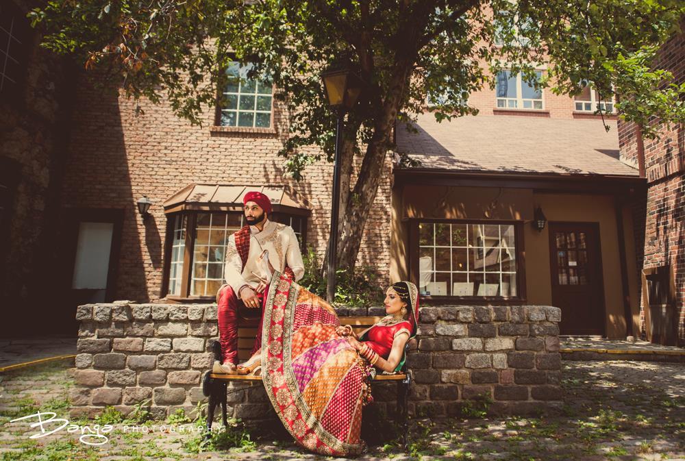 Stunning Ontario Sikh Wedding by Banga Photography