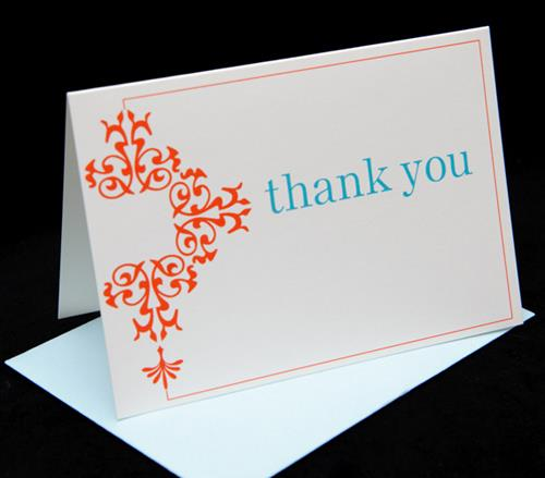 3 Bees Paperie Thank You Cards and Promotion