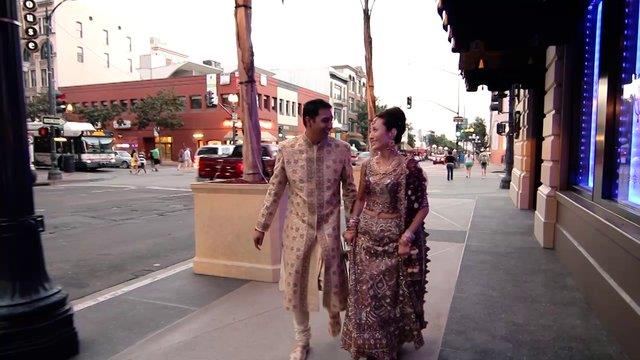 Hindu and Korean Indian Wedding Video by Side by Side Cinema