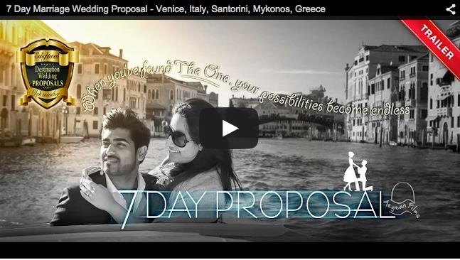 7 Day Surprise Destination Indian Proposal Video by Aegean Films