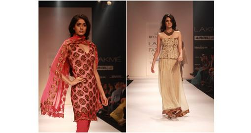 Lakme Fashion Week Winter 2011 - Rina Dhaka