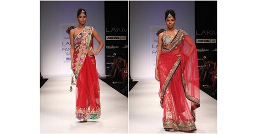 Lakme India Fashion Week Winter 2011 - Parvesh Jai