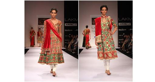 Lakme India Fashion Week Winter 2011 - Preeti S. Kapoor
