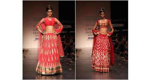 Lakme India Fashion Week Winter 2011 - Anita Dongre
