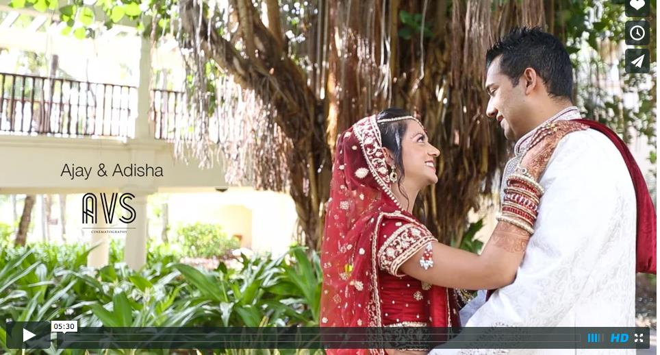 Destination Mauritius Indian Wedding Video by AVS Cinematography