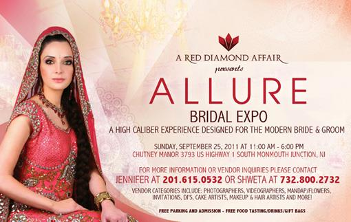 ALLURE - Bridal Showcase - September 25th in New Jersey