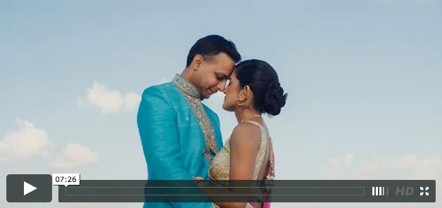Destination Cancun Mexico Indian Wedding Video by East West