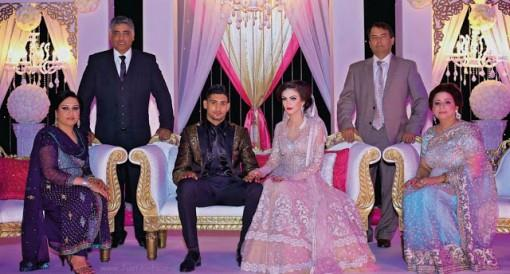 Amir Khan & Faryal Makhdoom Walima - Celebrity South Asian Wedding