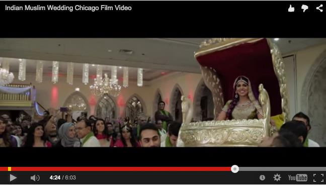 Muslim Indian Wedding in Chicago by Aria Films