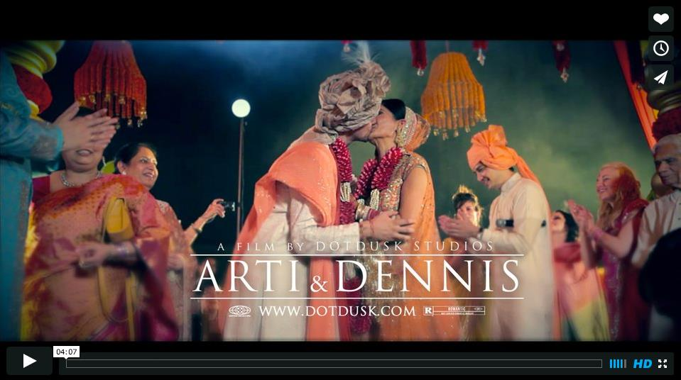 Destination Indian Wedding Video by DotDusk Studios