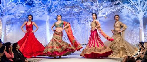 Asiana Bridal Show London 2013 - Charmi Creations & Frontier Raas