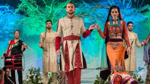 Asiana Bridal Show London 2013 - Mongas, Harkirans & Ziggi Studio