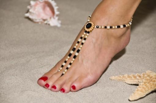 Barefoot Beach Sandals for Destination Indian Wedding