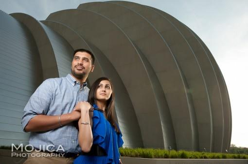 Beautiful Outdoor Indian Engagement Session by Mojica Photography