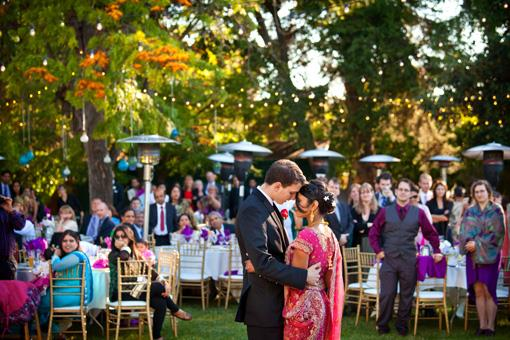 Beautiful Outdoor Indian Wedding Reception - 3