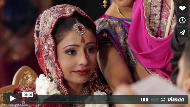 Sikh and Hindu Indian Wedding Video by Digital Fusion Production